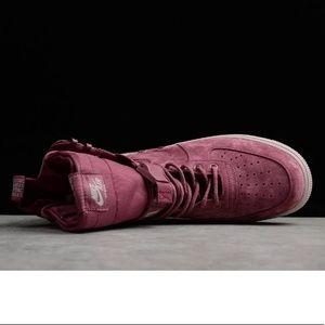 d9c42e11933 Nike Shoes - Nike AF1 SF FIF Vintage wine rose AJ1700-600